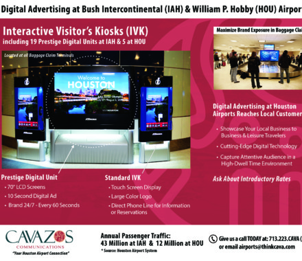 Cavazos Communication-Airport Advertising Brochures